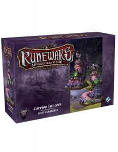 Carrion Lancers Unit Expansion Pack - Runewars Miniatures Game