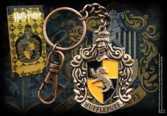 Hufflepuff Crest Keychain - Harry Potter