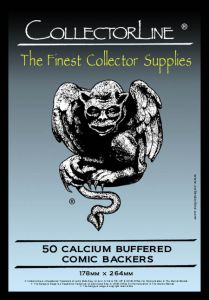 #CollectorLine | 50 Pack Calcium Buffered Backers