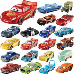 Disney Cars Basics Collection - Assorted Plastic Vehicles