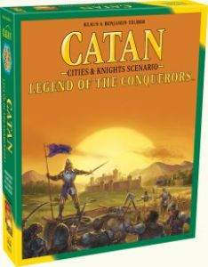 Catan: Legend Of The Conquerers - Cities and Knights Scenario
