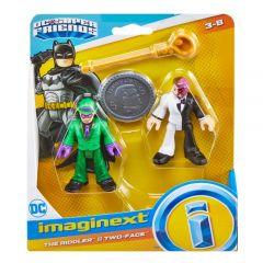 Riddler & Two-Face   DC Super Friends   Imaginext