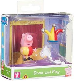 George With Jester Outift - Peppa Dress & Play - Peppa Pig