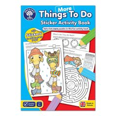 More Things To Do Sticker Activity Book - Orchard Toy