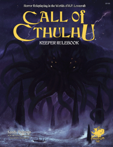 Keeper Rulebook | Call of Cthulhu 7th Edition