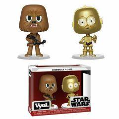 Chewbacca & C-3PO VYNL 2 Pack - Funko
