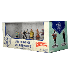 Clovis Concord & Menagerie Coast Box Set   Factions of Wildemount   Critical Role PrePainted