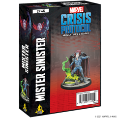 Mister Sinister | Character Pack | Marvel Crisis Prototcol