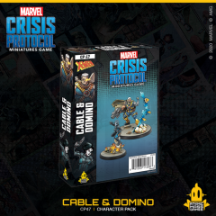 Cable & Domino | Character Pack | Marvel Crisis Protocol