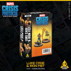 Luke Cage & Iron Fist | Character Pack | Marvel Crisis Protocol