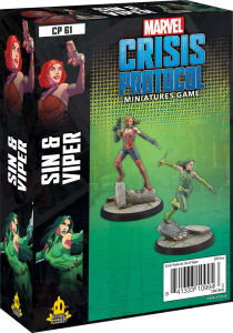 Sin & Viper | Character Pack | Marvel Crisis Protocol