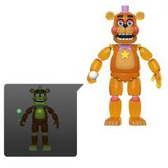 "Rockstar Freddy (Glow in the Dark Version) - Five Nights at Freddy's Pizza Simulator - 5"" Action Figure"