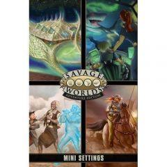 Game Master Screen and Mini-Settings - Savage Worlds RPG