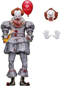 """Pennywise I Heart Derry - IT (2017) - 7"""" Ultimate Action Figure - Neca"""