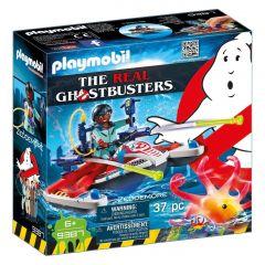 Ghostbusters Jetski With Zeddemore - Playmobil