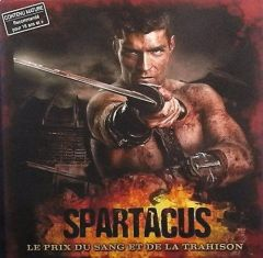1400 Copies of Spartacus  Blood and Treason French Language Edition | GaleForce Nine NOT IN ENGLISH