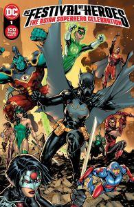 DC FESTIVAL OF HEROES ASIAN SUPERHERO CELEBRATION #1 CVR A