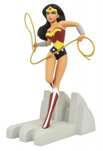 Wonder Woman Premier Collection Resin Statue  Justice League The Animated Series   Diamond Select Statue