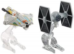 Tie Fighter Vs. Ghost  - Star Wars - Hot Wheels 2 Pack