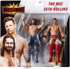 The Miz & Seth Rollins - Wrestlemania Battlepack - WWE