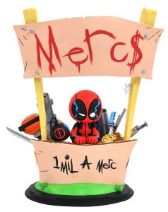 Marvel Animated Deadpool Merc for Hire Statue