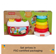Baby's First Blocks & Rock-a-Stack   Plant-Based Toys   Fisher Price