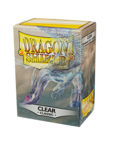 Clear Classic 100 Standard Sized Card Sleeves | Dragon Shield