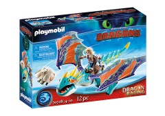 Astrid and Stormfly | Dragon Racing | Dreamwork's Dragons
