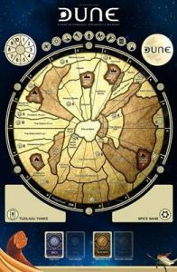 Dune: Board Game Game Mat