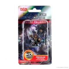 Dwarf Paladin (She/Her/They/Them) | Icons Of The Realms Premium Figure | Wave 4 | Wizkids