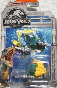Deep-Dive Submarine - Jurassic World Diecast Collection - Matchbox