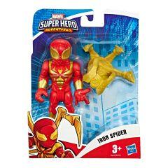 Iron Spider Action Figure | Marvel Super Hero Adventures | Playskool Heroes