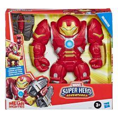 Hulkbuster | Marvel Super Hero Adventures | Mega Mighties Figure | Playskool Heroes