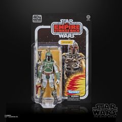 "Bobba Fett - Star Wars - 6"" Black Series Action Figure - Retro Card"