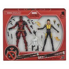 Deadpool and Negasonic Teenage Warhead - Marvel Legends Series Action Figure Two Pack