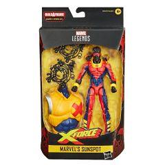 "Marvel's Sunspot | X-Force| 6"" Scale Marvel Legends Series Action Figure"