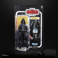 "Darth Vader - Star Wars - 6"" Black Series Action Figure - Retro Card"