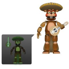 """El Chip (Glow in the Dark Version) - Five Nights at Freddy's Pizza Simulator - 5"""" Action Figure"""