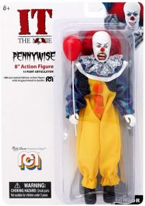 """Pennywise - Mego 8"""" Action Figure - IT The Movie"""