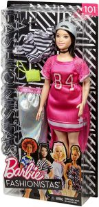 Pink 84 Dress - Barbie Fashionistas Gift Set - 101