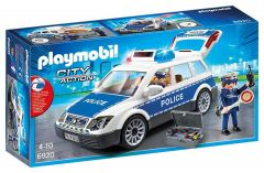 Squad Car With Lights And Sound - Playmobil