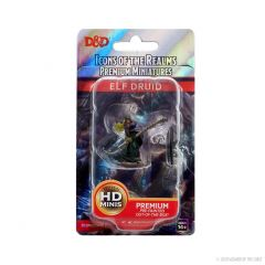 Elf Druid (He/Him/They/Them) | Icons Of The Realms Premium Figure | Wave 4 | Wizkids