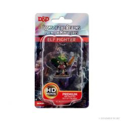 Elf Fighter (He/Him/They/Them) | Icons Of The Realms Premium Figure | Wave 4 | Wizkids