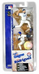 "Eric Gagne & Alex Rodriguez   MLB McFarlane Sports Picks 3"" 2 Packs"