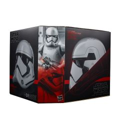 PRE-ORDER: First Order Stormtrooper Electronic Helmet | Star Wars The Black Series | Star Wars: The Last Jedi