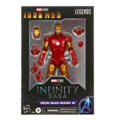 "PRE-ORDER: Iron Man Mark III | Iron Man | The Infinity Saga | 6"" Scale Marvel Legends Series Action Figure"