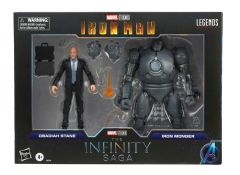 """PRE-ORDER: Obadiah Stane and Iron Monger  Iron Man   The Infinity Saga   6"""" Scale Marvel Legends Series Action Figure Two Pack"""
