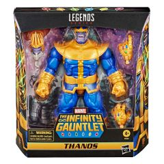 """Thanos   The Infinity Gauntlet   Deluxe 6"""" Scale Marvel Legends Series Action Figure"""