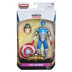 "Civil Warrior   Gamerverse Marvel Contest Of Champions   6"" Scale Marvel Legends Series Action Figure"