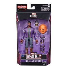 """PRE-ORDER: T'Challa Star-Lord   What If...?   6"""" Scale Marvel Legends Series Action Figure"""